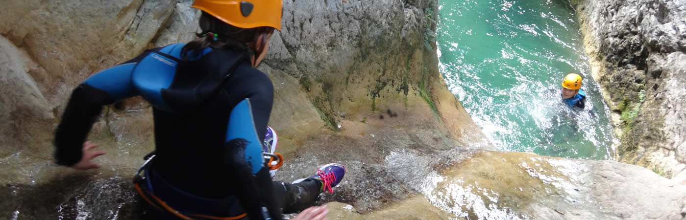 Canyoning in de Italiaanse canyons